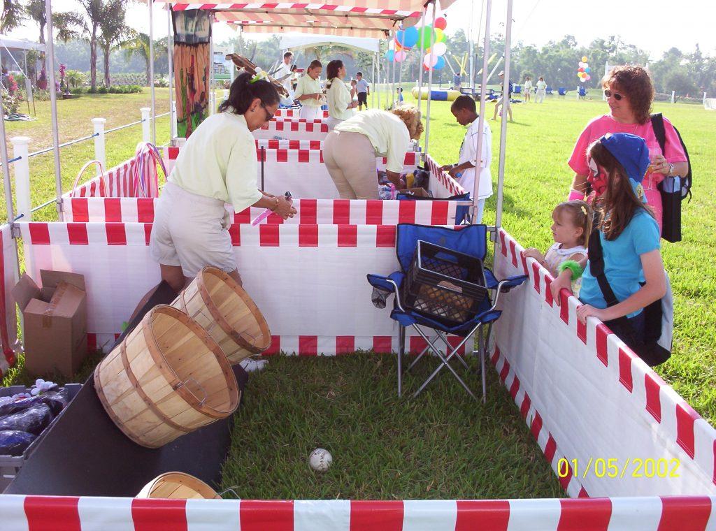 Bushell Basket Rentals, Carnival Game Rentals,