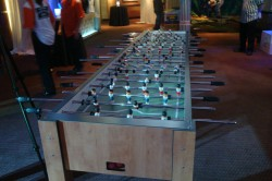Giant Game Rental, Giant Fooseball Table Rental, 22 Person Foosball Table Rental