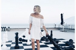 Giant Chess Photo Shoot with Giant Chess Rental