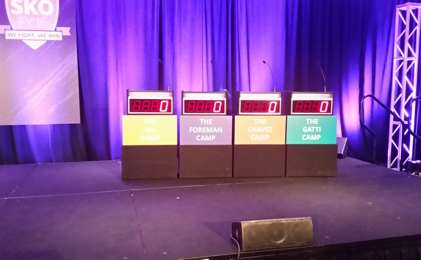 Corporate Event Rental with full size podiums
