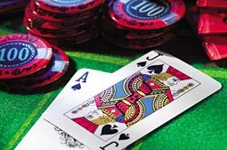 Try your luck at this game of skill with our casino rental for private parties or social gatherings.