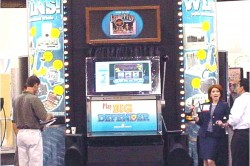 Jumbo Slot Rental, Custom Slot Machine Rental, Giant Slot Machine Rental, Trade Show Traffic Builders, Trade Show Traffic Building
