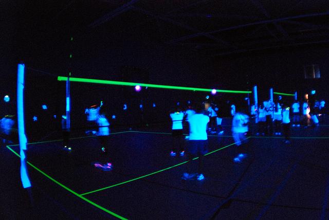 Black Light Volley Ball Rentals Orlando Tampa
