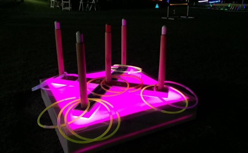 LED Ring toss rental Orlando Fl, Miami, Las Vegas