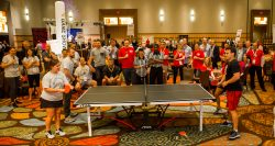 Let your employees showcase their skill in this team building challenge. Ping Pong Team Building is not for the weak of heart. It can get very tense. Team Building Activities Orlando