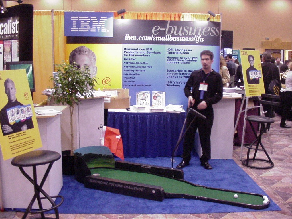 Trade Show Booth Games : Trade show traffic building builders
