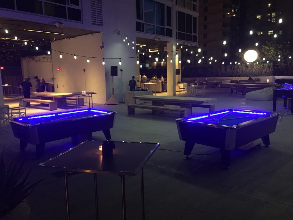 Led Pool Table Rental Led Party Absolute Amusements