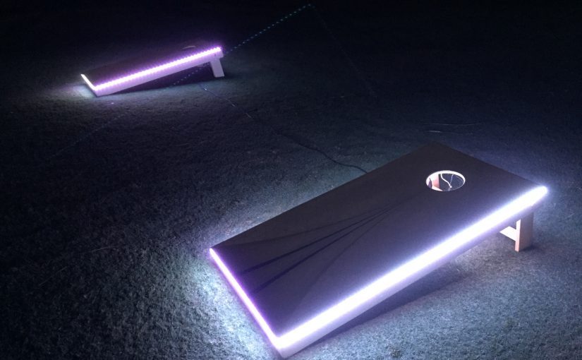 LED Corn Hole Rental Las Vegas, Florida, and surrounding areas.