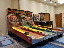Skeeball Rentals Florida, Arcade Rentals Fl, Skeeball Ally Fl, Corporate Event Skeeball Rental
