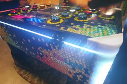 Catch The Light Game Rentals, Arcade Game Rentals Florida, Led Lightup Arcade Game that you can rent for corporate events