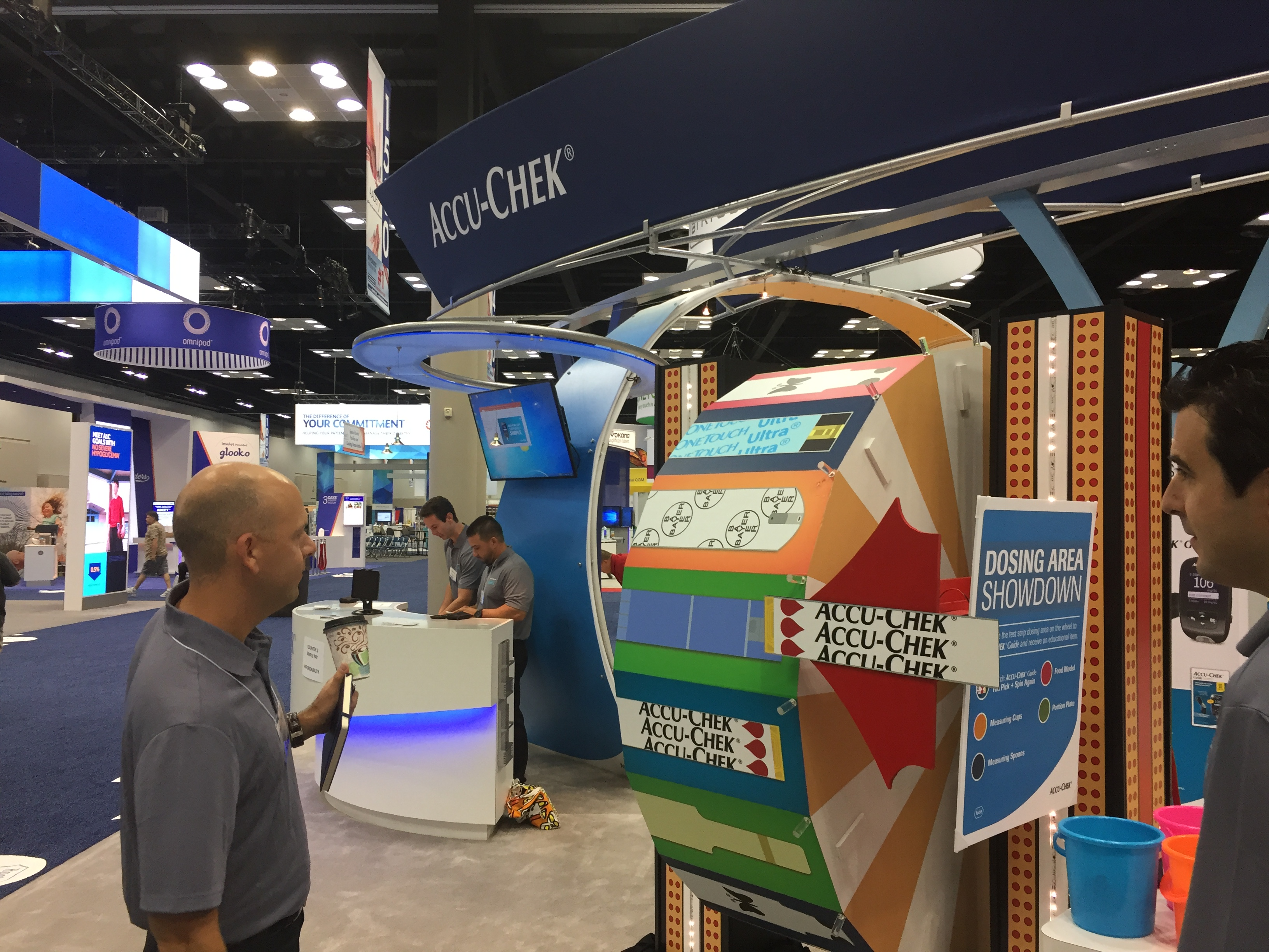 Customized Prize Wheel Trade Show Booth Ideas Attract Visitors Traffic Builders