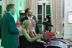 Space Invaders Frenzy Arcade Rental for corporate events