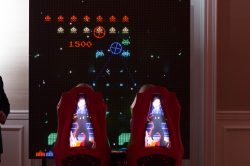 Space Invaders Overall View for corporate event rentals