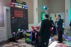 Space Invaders Frenzy Corporate Event Rental