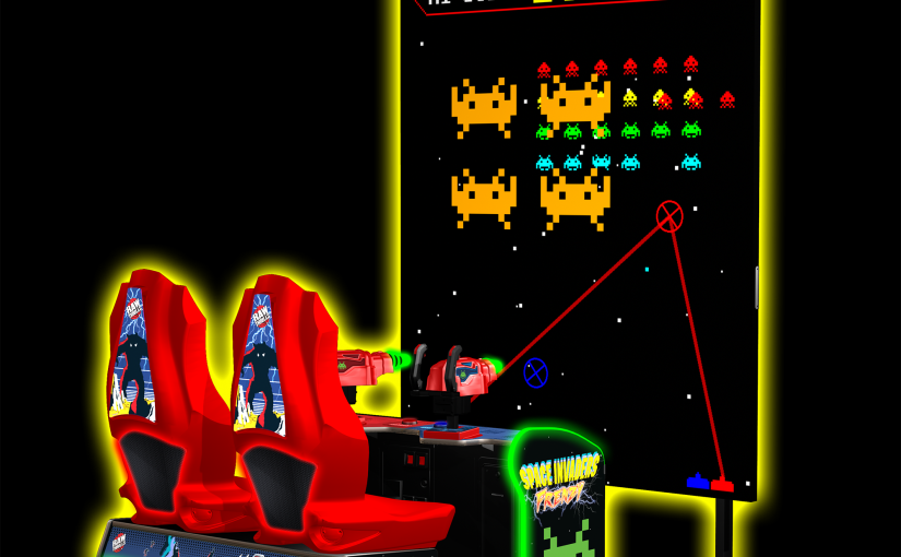 Giant Space Invaders Frenzy Rental