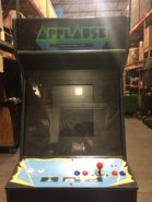 Picture Showing The Front Of A Custom Branded Arcade Game