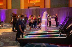 wedding LED Skeeball rental